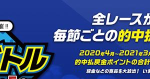 総額30万円が当たる!電話投票キャンペーン実施!