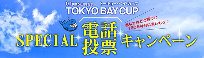 「トーキョーベイカップ」スペシャル電話投票キャンペーン
